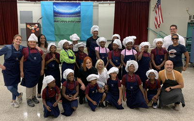 Common Threads teams up with the Miami Dolphins and local chefs for a Wellness Extravaganza