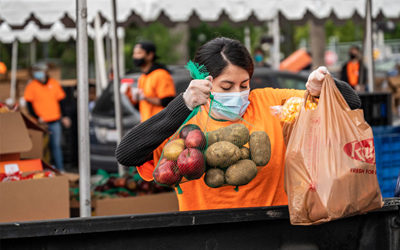 Nutrition Education and Food Distribution Nonprofits Pivot in Wake of COVID-19