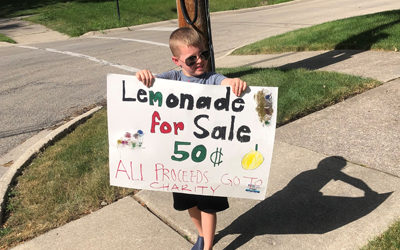 Patrick Kenny's Lemonade Stand for Charity
