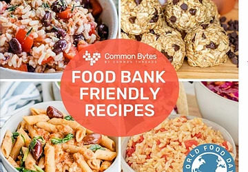Chefs share 'food bank friendly' recipes on World Food Day