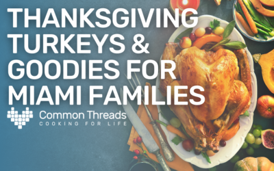 Thanksgiving turkeys and goodies for Miami Liberty City families