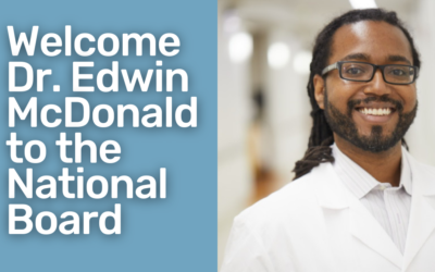 Common Threads adds Dr. Edwin McDonald to national board