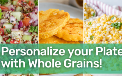 Personalize Your Plate with Whole Grains for National Nutrition Month